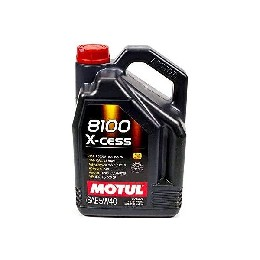 Engine Lubricating Oil Motul 8100 X-Cess (5L)