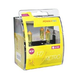 Automotive Bulb M-Tech PTZRT7-DUO H7 12V 55W 3200K Retro Gold