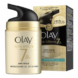 Fugtgivende anti-age creme Total Effects Olay (50 ml)