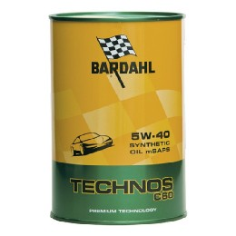 Car Engine Oil Bardahl TECHNOS C60 Exceed SAE 5W 40 (1L)
