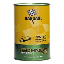 Car Engine Oil Bardahl TECHNOS C60 Exceed SAE 5W 30 (1L)