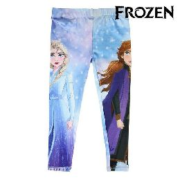 Leggings Frozen Blå