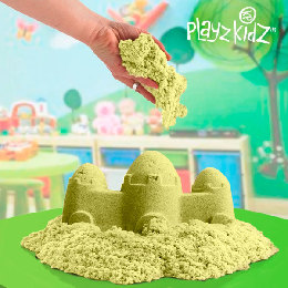 OUTLET Playz Kidz Kinetic Sand for Børn (Ingen emballage)
