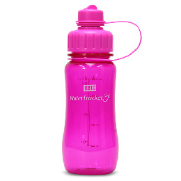 WaterTracker Hot Pink 0,5 l  drikkedunk BRIX 1 stk