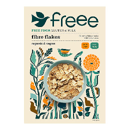 Fibre flakes gl.fri Doves Ø 375 g