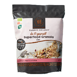 Granola Superfood m. chia Ø Do it Yourself 400 g