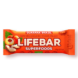 LifeBar Guarana paranød Plus Ø RAW 47 g