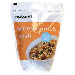 Mysli Honey Crunch Nutana 650 g