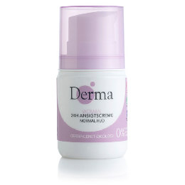 Derma Eco woman 24h normal ansigtscreme normal hud 50 ml