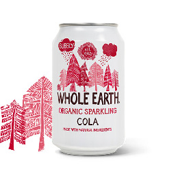 Cola sodavand Ø Whole Earth 330 ml