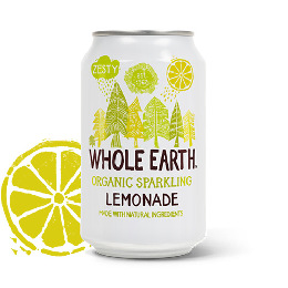 Lemonade sodavand Ø  Whole Earth 330 ml