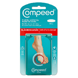 Compeed vabel plaster small 6 stk.