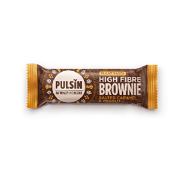 Bar Raw Choc Brownie Salted  Caramel Pulsin 35 g
