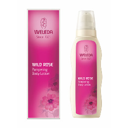 Body Lotion Pampering Wild  Rose Weleda 200 ml