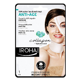 Face & neck anti-age mask collagen Iroha 30 ml