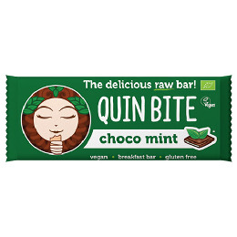 Choco Mint bar Ø - Quin Bite 30 g
