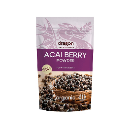 Acai bær pulver Ø - Dragon  Superfoods 75 g