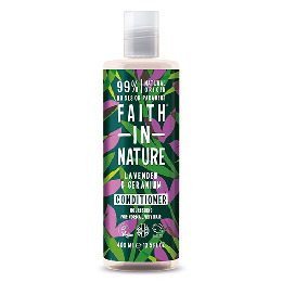 Balsam Lavendel & Geranium -  Faith in Nature 400 ml