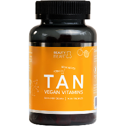 TAN vitamins BeautyBear 60 stk