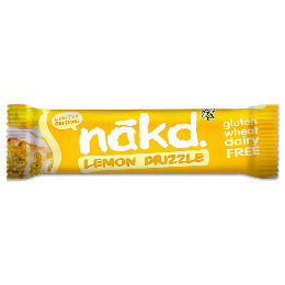 Näkd bar lemon drizzle 35 g