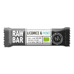 Raw bar Licorice & Mint Ø 45 g