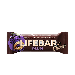 LifeBar InChoco Blomme RAW Ø 40 g