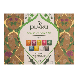Selection te  Box Guld Ø Pukka 45 br