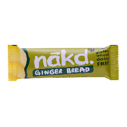 Näkd bar ginger bread 35 g