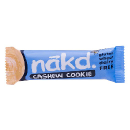 Näkd bar cashew cookie 35 g