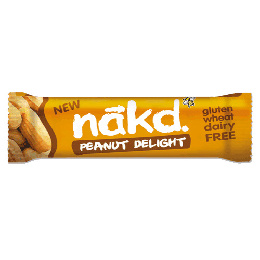 Näkd bar penut delight 35 g