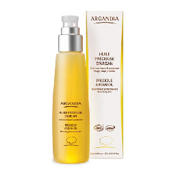 Organic Pure Precious Argan  oil ARGANDIA 125 ml