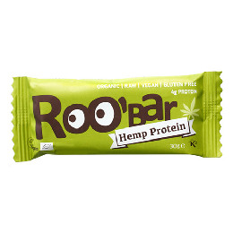 Bar med hamp Ø Raw Roobar 30 g