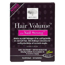 Hair Volume + Nails strong 60 tab