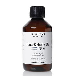 Juhldal Face & Body Oil No4 med citrus 250 ml