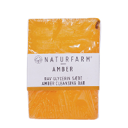 Amber cleansing bar Naturfarm 125 g